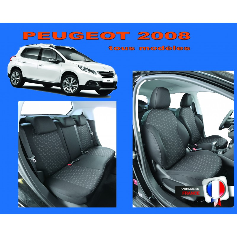 housse siege auto sur mesure peugeot 2008. Black Bedroom Furniture Sets. Home Design Ideas