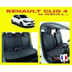 Housse de siège auto sur mesure Privilège  Renault Clio 4