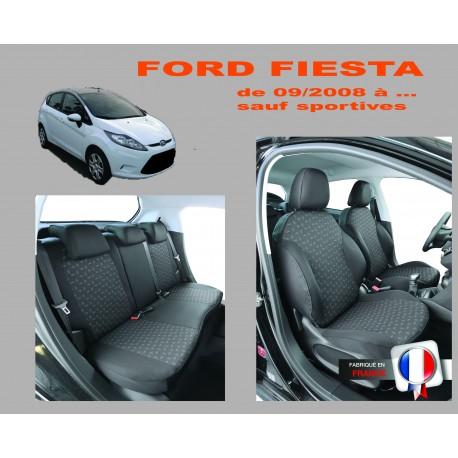 Housse de siege auto  sur mesure Privilege Ford Fiesta