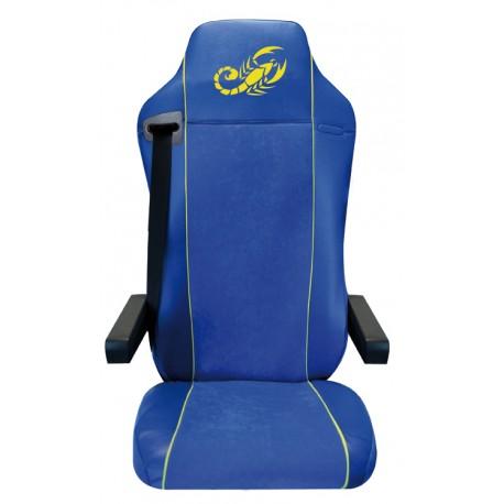 Housses de sièges Poids Lourds Bords simili + Centre Alcantara  MERCEDES ATEGO  Siège Confort