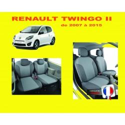 Housse de siege auto  sur mesure Privilège  Renault Twingo 2