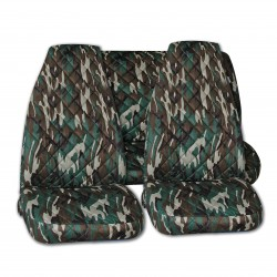 Housse auto camouflage chasse peche