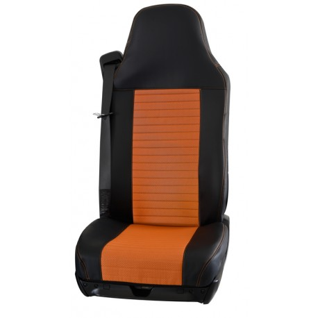 Housses de sièges Poids Lourds  MAN TGL / TGM / TGS / TGX  Bords simili + Centre simili ( La Paire)