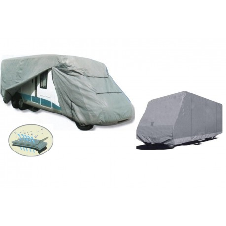 Bache de protection carrosserie camping car LUXE  Taille S     5,50 m x 2,20 m x 2,60