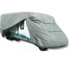 Bache de protection carrosserie camping car LUXE Taille M 6,50 m x 2,40 m x 2,60 m