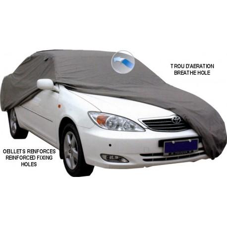 Housse de protection carrosserie auto LUXE  taille 490x178x120cm